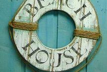 Beach House / Beach House Idea Board.  Décor, Design and Inspiration for your Dream Beach House!