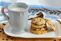 ♥ Chocolate Chip Cookies ♥ / It is all about Chocolate & Chocolate Chips / by Maria {Box of Stolen Socks}