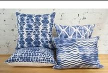 Adrienne Wong Pillows / My new pillow line featuring textiles by Adrienne Wong Art + Design, now on One Kings Lane and adriennewong.com for the full collection. #wabisabistyle #wabisabiliving #wabisabi