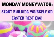 Budget-friendly Easter / Budget Easter tips and hacks for you to get inspired and have a frugal holiday break! We pin cheap crafts and decorating ideas, thrifty kids' activities, travel tricks, and quirky ways to plump up your savings account.