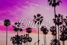 Drinks / Drinks and beverages that will quench your thirst! Sip away!