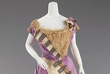 Late Victorian Costume / Beautiful examples of late Victorian (1870-1900) dressmaking art showcased at various museum houses across the United States and Europe.