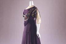 Edwardian Costume / Beautiful examples of Edwardian (1901-1919) dressmaking art showcased at various museum houses across the United States and Europe.