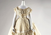 Antebellum-Reconstruction / Beautiful examples of Antebellum-Reconstruction (1840-1869) dressmaking art showcased at various museum houses across the United States and Europe.