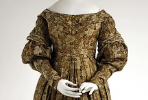 Romanic Costume / Beautiful examples of Romantic Era (1825-1839) dressmaking art showcased at various museum houses across the United States and Europe.