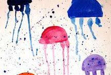 Ocean Science and Crafts / Explore the ocean with these fun experiments and crafts for kids. Check out Green Kid Crafts products on http://www.GreenKidCrafts.com
