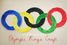 Olympics Crafts / Celebrate the Olympics with these crafts.  Check out Green Kid Crafts products on http://www.GreenKidCrafts.com