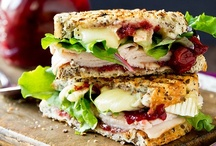 Food: Sandwiches / by Jenna Cole