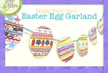 Easter Crafts / Let your kids have fun with these Easter Crafts.  Check out Green Kid Crafts products on http://www.GreenKidCrafts.com