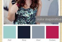 Colour Palettes / Colour palette ideas.