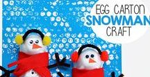 Winter Activities / Winter activities for kids. Ideas for playing in the snow, science experiments that use snow, warm winter play, indoor play ideas, snow and ice experiments.