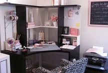 Home Stylee - Office Space / Great home office designs. / by Iced Hazelnut