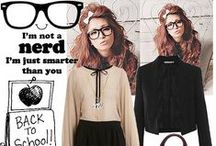 Geek Chic Style / Library style