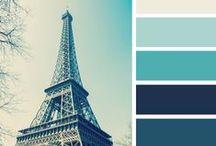 Color Scheming / Not sure what color palettes you like? Here are some ideas.  / by Iced Hazelnut