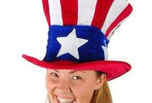 Fourth of July & Uncle Sam Costumes / Celebrate the United States' Independence Day, commonly known as the Fourth of July, with these great costumes.