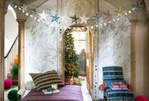 Christmas Decorating / When it comes to Christmas decorating, 'tis the season to be stylish. From fairy lights to trees, get inspired with these fabulously festive Christmas decorating ideas.