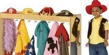 Costume Storage Ideas / Check out some tips on how to safely store your costumes and accessories, with a few fun twists.