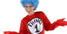 Dr. Seuss Costumes / Dr. Seuss costumes and accessories are great ideas for Book Week or kids birthday parties.