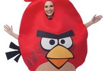 Angry Birds Costumes / The world's most popular video game! Create your own real life reenactment of the Angry Birds. Just be sure to be safe around the house!