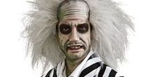 Beetlejuice Costumes / If you're a bit of a prankster or you're going to a black and white themed party, then Beetlejuice is the obvious choice for you! We have so many options here for costumes and accessories.