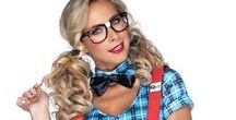 Cheerleader & School Costumes / Go back to your school days with a cheerleader, schoolgirl, nerd, schoolboy, or teacher costume.