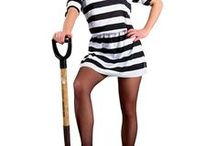 Criminal & Convict Costumes / Have you been bad? Dress up as a convict for your next party, but try to stay away from the cops!
