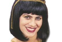 Egyptian Costumes / Dress up as an ancient pharaoh or the Queen of the Nile for your next costume party!