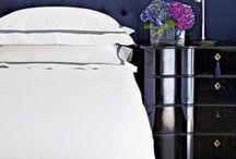 White Bedding / So fresh and so clean. Reasons why we love crisp white bedding.