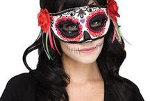 Day of the Dead Halloween Costumes / Put a little Mexican style into your Halloween celebrations!