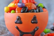 Halloween Food Frights / Quick, easy and ,admittedly, gross food ideas for Halloween.