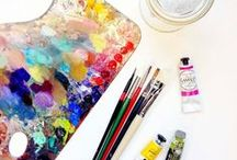 Art & The Makerspace / Whether you're putting the needle to yarn for a scarf, or using needle-nosed pliers to put jumpers on a motherboard, this Pinterest board is here to direct you to some instruction and inspiration.