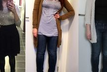 Project 333 - Fall/Winter capsule wardrobe - outfits