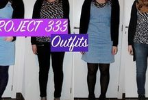 Projet 333 - Spring/Summer capsule wardrobe - outfits