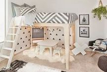Bunking Up / Bunk Bed inspiration for shared kid rooms