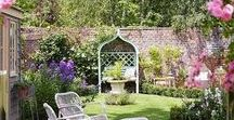 Small Gardens / Creative ways to use your outdoor space