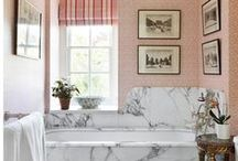 Small Bathroom Design Ideas / Beautiful small bathrooms - traditional and contemporary, wild and wonderful, in the town and country.