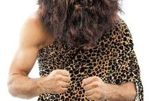 Cave Man & Cave Woman Costumes / Go back to the beginning of time with these great cave man and cave woman costumes!