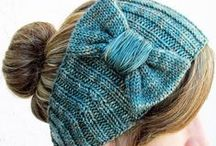 Hand Knit Accessories / Pretty accessories that I like / by KnitzyBlonde