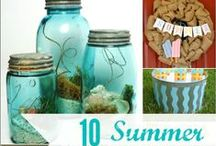 Summer Lovin' / Idea for summer home decor and crafts