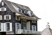 All Things Houses / I love houses in all shapes and sizes and eras. Here are some that catch my eye from all over.
