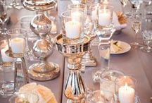 Tablecloths, Table Settings, Napkins, and Cool Arrangements
