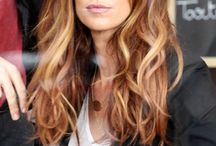 Hair inspiration / Hair styles/colours for long hair