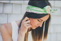 BANDZ. / all kinds of bands...headbands / by Hanisha Amin