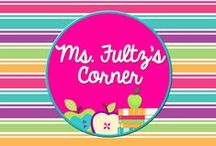 School: Ms. Fultz's Corner / Every post from Ms. Fultz's Corner (www.ChristiFultz.com) right at your finger tips! You'll find elementary classroom organization tips, literacy resources, reading strategies, writing minilessons, math games, freebies, and more.