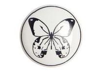 motywy - ważki, motyle