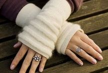 Knit Crochet Patterns Gloves Mitts Hand Warmers / by KnitzyBlonde