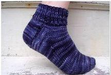 Knit Crochet Patterns    Sox Slippers Legwarmers / by KnitzyBlonde