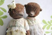 Bears. Critters, Stuffies / by Ellen Liss