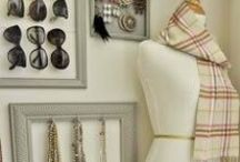Getting Organized / Organizational ideas for the home and family. Taming the closet, paper piles, and everything else that needs put in its place. I love finding simple DIY solutions!
