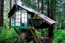 treehouse inspirations / treehouses - playsets - swingsets - playhouses - art retreats - meditation spaces - sustainable woodworking